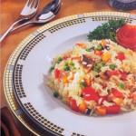 أرز بالخضروات