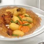 الأطرية التونسية، دويدة مفورة بالدجاج