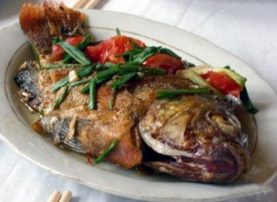 سمك مشوي