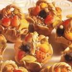 حلويات سلات الفاكهة