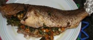 السمك المحشي