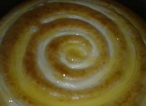 الكيكة الحلزونية