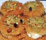 طريقة عمل حلوى العصملية بالقشدة من المطبخ اللبناني