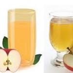 عصير التفاح بالزنجبيل