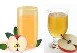 عصير تفاح  بالزنجبيل