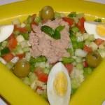 السلطة التونسية، السلطة التونسية التقليدية  الخضراء المطبخ التونسي
