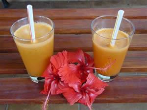 الطبخ المغربي > المشروبات> عصير الجزر بالتوت