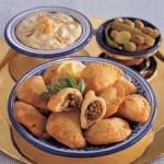 سمبوسك باللحم من المطبخ اللبناني