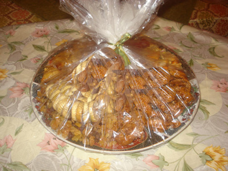 بيروات باللوز والعسل, الشباكية, مكسرات وحلويات مغربية