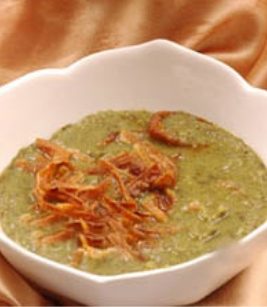 طبق نباتي - البصارة المصريه