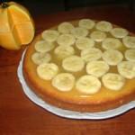 كيكة بعصير الليمون و الموز