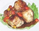 كويرات الدجاج المحشوة