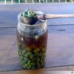 الزيتون الأخضر, المطبخ التونسي