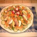 سلاطة الفجل من الأكلات التونسية