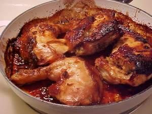 صورة  طجين الدجاج بالعسل وصفات الطبخ المغربي  أطباق الدواجن
