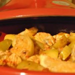 وصفات الطبخ المغربي > أطباق السمك طاجين سمك التونة بالبصل
