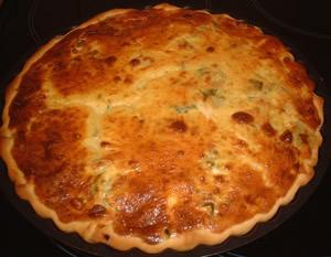 كيش بفواكه البحر وصفات المطبخ المغربي خاص شهر رمضان