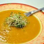 برودو بالخضرة المنشي ، حساء المطبخ التونسي