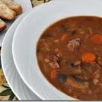 شربة فريك بأكارع الغنم، حساء المطبخ التونسي