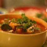 شربة فريك بالمخ، حساء المطبخ التونسي
