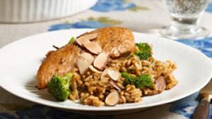 أرز بالدجاج و الخضر
