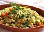 أرز بالخضر