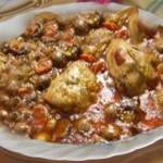 الدواجن التونسية، مرقة كرفس بالدجاج