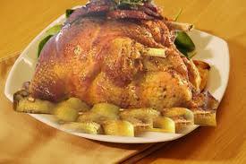 دجاج محشي محمر