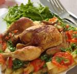 دجاج في الكوشة مع البطاطا