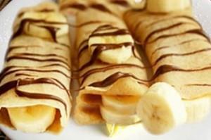كريب الشكلاطة و الموز