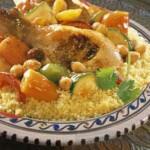 الكسكسي التونسي، كسكسي بالدجاج