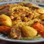 الكسكسي التونسي، كسكسي باللحم
