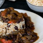 الأرز التونسي، أرز باللوبية ( فصوليا)