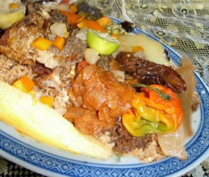 أرز مفور بالسمك