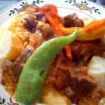 الأرز التونسي، أرز مفور بالعلوش