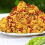 الأرز التونسي، أرز أزعر بالجلبانة
