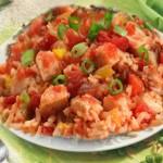 الأرز التونسي، أرز بالصلصة