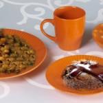 أطباق رمضانية: شربة الشوفان، لحم بالخضر و العدس، أكواب الشوكلاطة و الكريمة