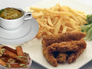 أطباق رمضانية:شوربة بصل،دجاج ملفوف و أصابع مقرمشة