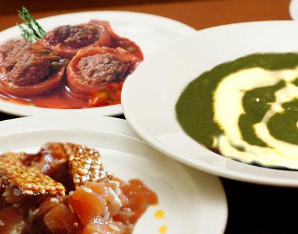 أطباق رمضانية: شوربة سبانخ، طاجين كوسة و حلقوم جلجلان