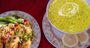 أطباق رمضانية: شوربة كوسة و فاصوليا خضراء بكويرات اللحم