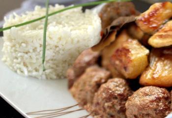 طاجين القرع بكويرات اللحم