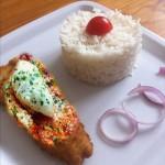 أكلة تونسية، باني السمك مع صلصة الطماطم
