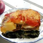 طاجين التفاح والطماطم
