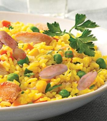 أكلة تونسية، أرز أزعر