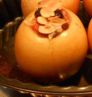 اكلة تونسية، تفاحة محشوة بالجبن