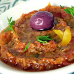 أكلة مغربية، سلطة زعلوك بالجزر