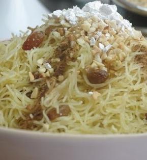 أكلة تونسية، النجارة أو الرشتة البنزرتية الحلوة