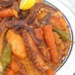 أكلة تونسية، كسكسي بالقرنيط