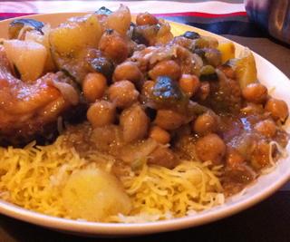 أكلة تونسية، رشتة كسكاس